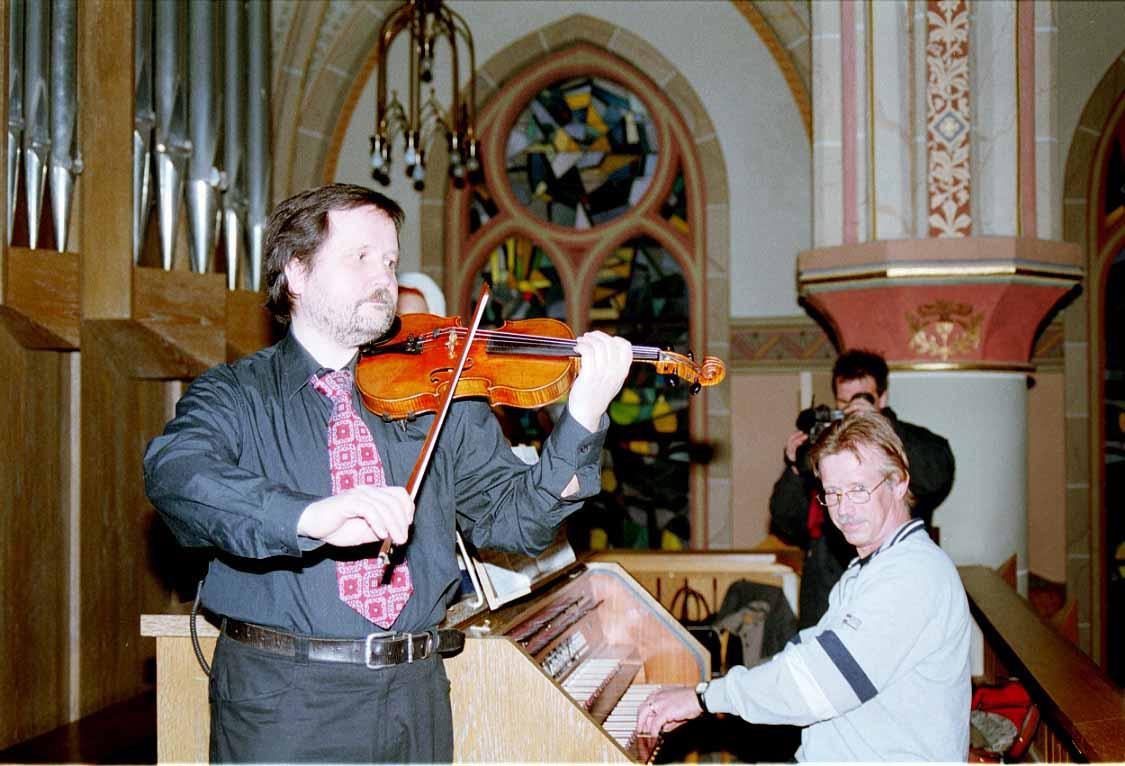 Kirchenmusik mit Violine
