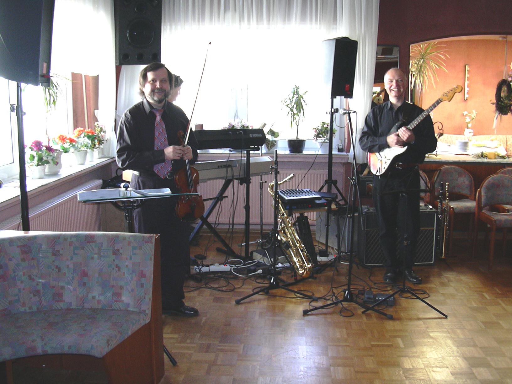 Band für Hochzeitsparty