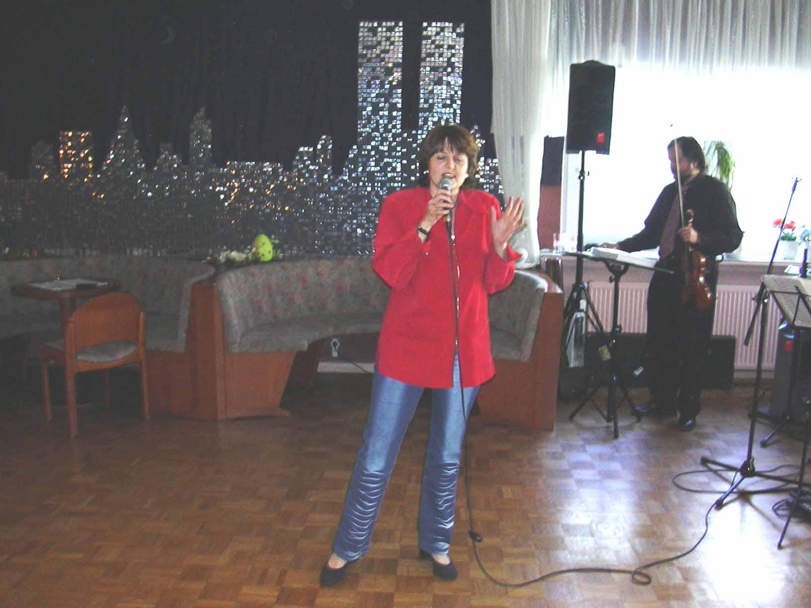 Gesang für Hochzeitsparty